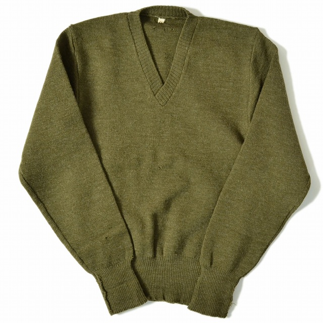 画像1: 【50%OFF】 50's ウールニットセーター (1)