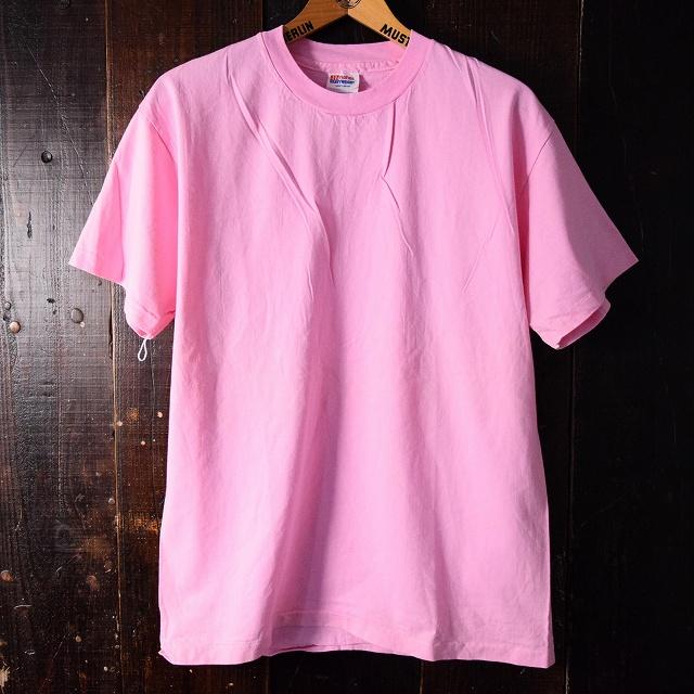 画像1: 90's Hanes 無地Tシャツ (1)