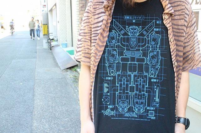 """画像1: """"百獣王ゴライオン"""" アニメTシャツ (1)"""