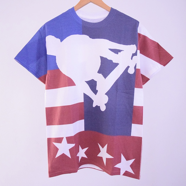 "画像1: ●【SALE】  BOWWOW ""OLD GLORY"" SKATE TEE (1)"