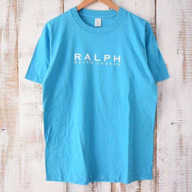 画像1: 〜00's ブートRalph Lauren プリントTシャツ (1)