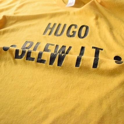 """画像1: 80's """"HUGO BLEW IT""""ギミックプリントTシャツ (1)"""