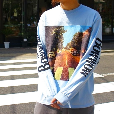 "画像1: 【20%OFF】 BOWWOW  ""BOW WOW ROAD"" LS TEE (1)"