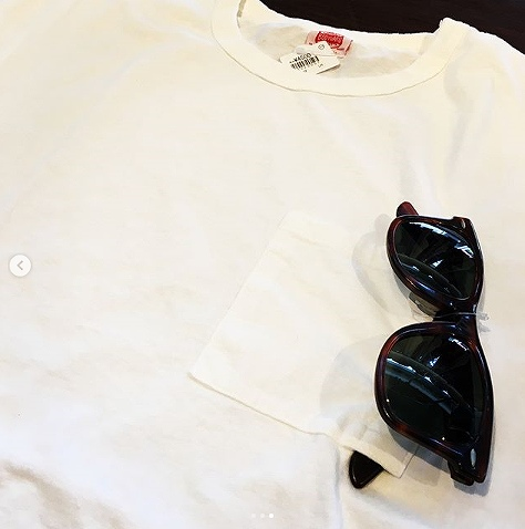 "画像1: BODYGARD ""CN BINDER TEE GLASSES POCKET"" (WHITE) (1)"