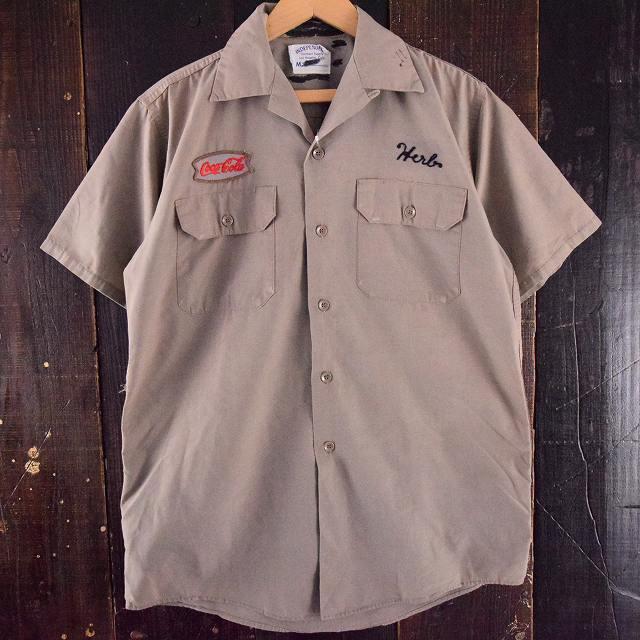画像1: 60's INDEPENDENT チェーンステッチワークシャツ (1)
