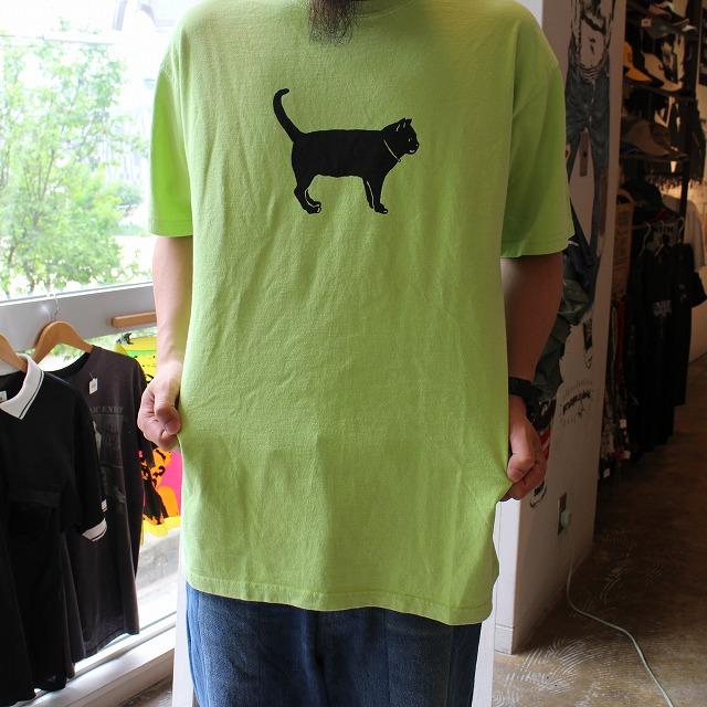 """画像1: """"The Black Cat"""" ねこカラーTシャツ (1)"""