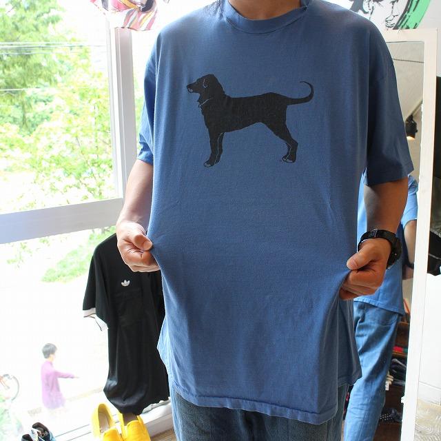 """画像1: 90's USA製 """"The Black Dog"""" いぬTシャツ (1)"""