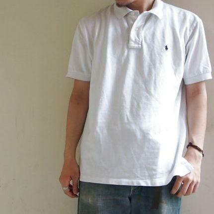 画像1: 90's Ralph Lauren ワンポイントポロシャツ (1)