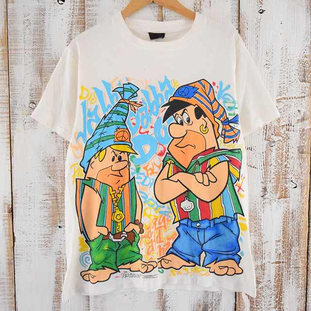 画像1: 90's THE FLiNTSTONES 原始家族フリントストーンTシャツ (1)