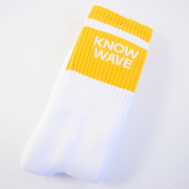 画像1: KNOW WAVE What's The Password Socks (1)