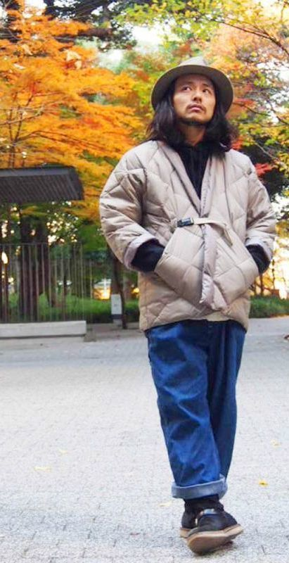 "画像1: COMFY OUTDOOR GARMENT ""DOTERA DOWN"" BEIGE (1)"