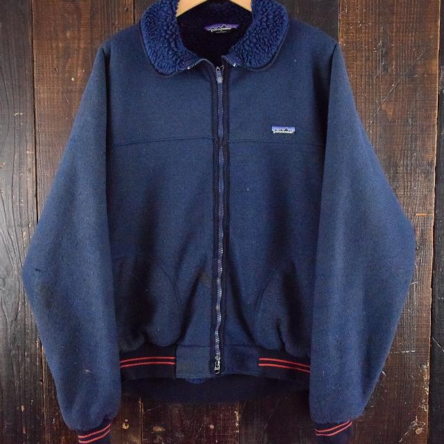 画像1: 80's Patagonia USA製 内ボアフリースジャケット XL (1)