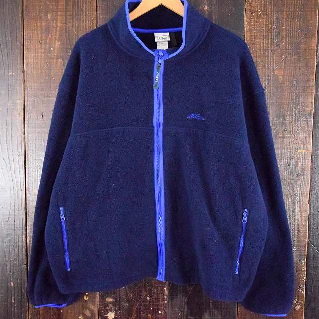 画像1: 80's〜90's L.L.Bean USA製 フルジップフリースジャケット  XXL (1)