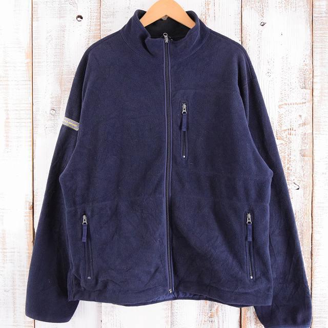 画像1: 【20%OFF】 90's Ralph Lauren POLO SPORT フルジップフリースジャケット XL (1)