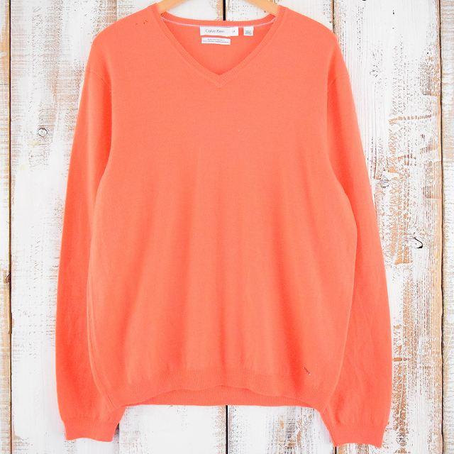 画像1: 【20%OFF】 Calvin Klein メリノウールセーター (1)