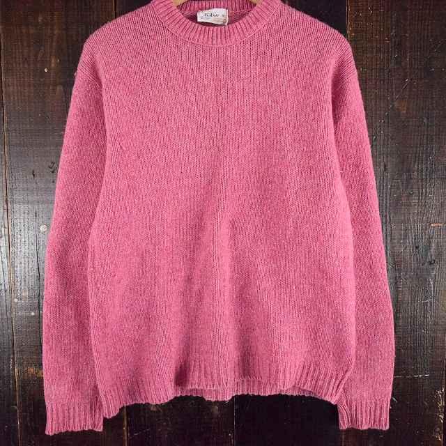 画像1: 【20%OFF】 〜70's USA製 ウールニットセーター XL (1)