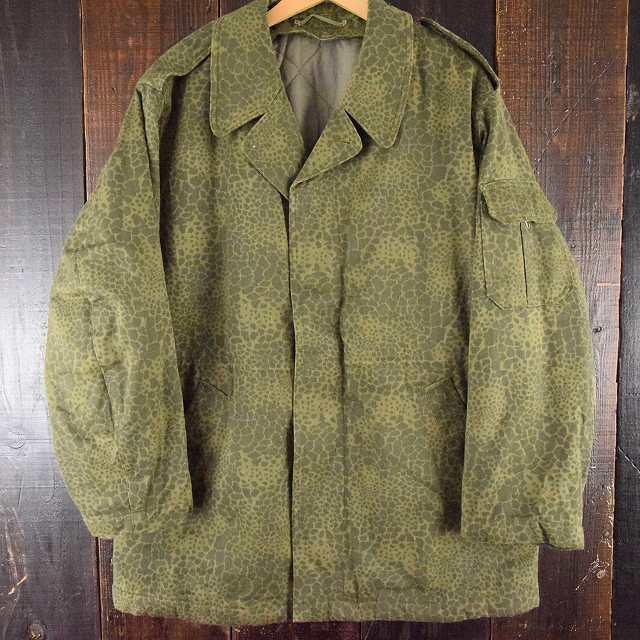 画像1: 80's〜90's ポーランド軍 M89 レオパードカモ フィールドジャケット (1)