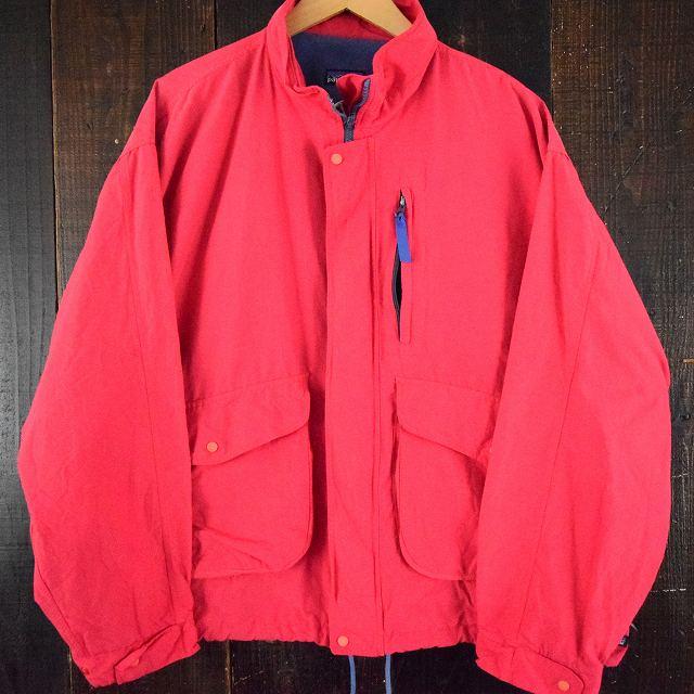 画像1: 【SALE】 90's Patagonia KOREA製 コットンナイロンジャケット XL (1)