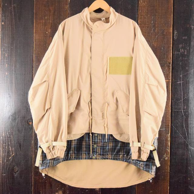 "画像1: 【価格を見直しました】 COMFY OUTDOOR GARMENT ""15 STEP COAT"" BEIGE (1)"
