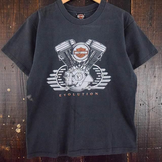 画像1: 90's HARLEY-DAVIDSON USA製 バイカーTシャツ (1)