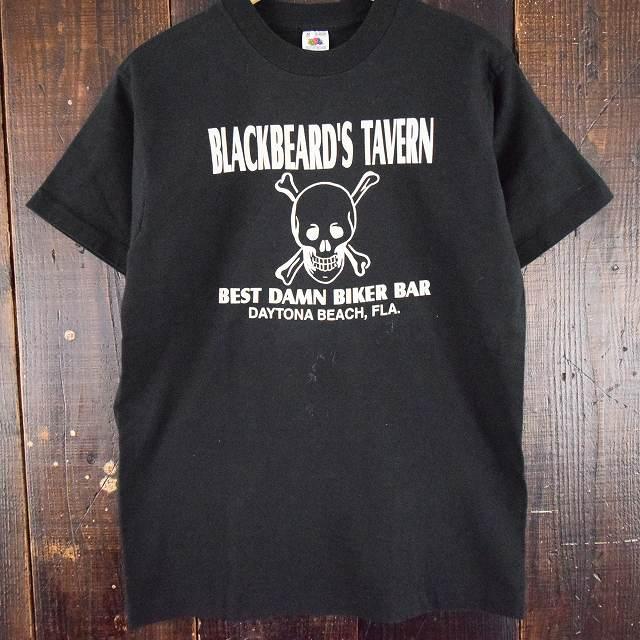 画像1: 90's BLACKBEARD'S TAVERN スカルTシャツ (1)