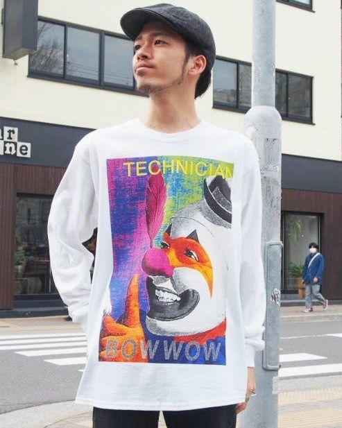 """画像1: 【価格を見直しました】 BOWWOW """"BOWHOLE"""" TEE L (1)"""