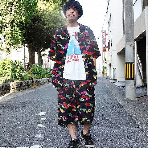 "画像1: 【価格を見直しました】 BOWWOW ""I CAN KICK IT"" HAWAIIAN SHIRTS (1)"