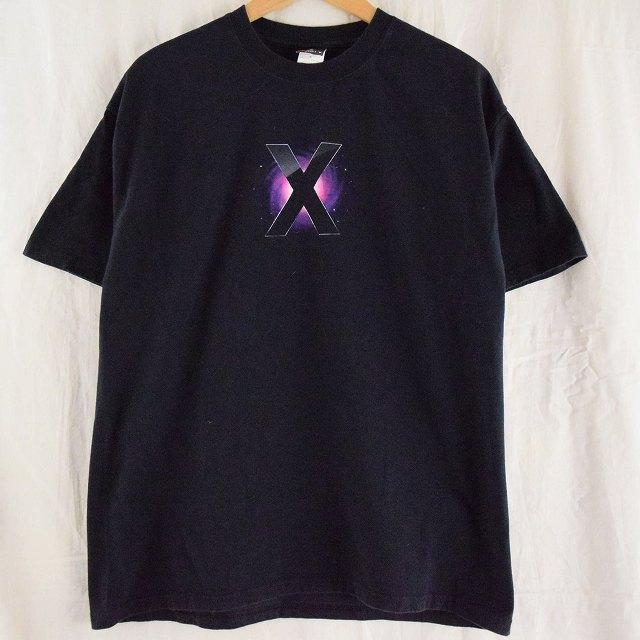 """画像1: 2000's Apple """"Mac OS X"""" プリントTシャツ (1)"""