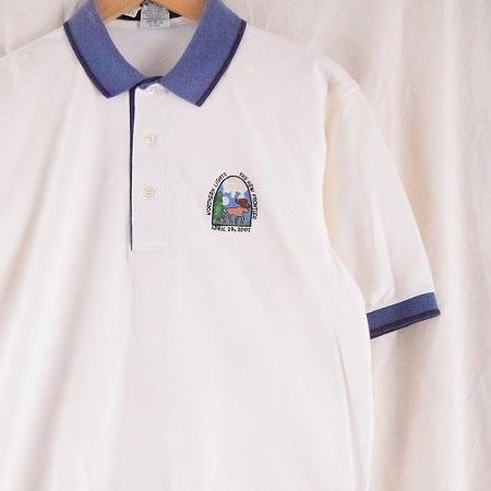 """画像1: 2000's Apple """"NORTHERN LIGHTS THE NEW FRONTIER"""" 社員用ポロシャツ (1)"""