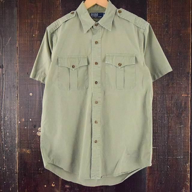 画像1: Ralph Lauren TYPE B-11 ミリタリーシャツ (1)