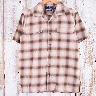 画像1: Ralph Lauren POLO SPORT オンブレーチェックシャツ S (1)