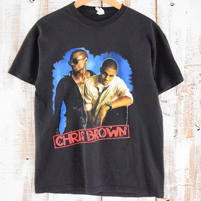 """画像1: 【価格を見直しました】 CHRIS BROWN """"FUN APPRECIATION TOUR"""" ライブツアーTシャツ (1)"""