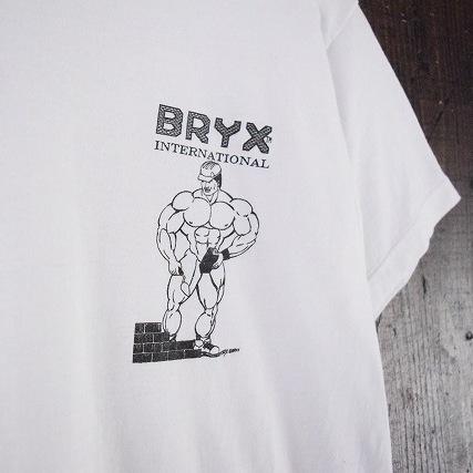 """画像1: 70's〜80's USA製 """"BRYX INTERNATIONAL"""" プリントTシャツ (1)"""
