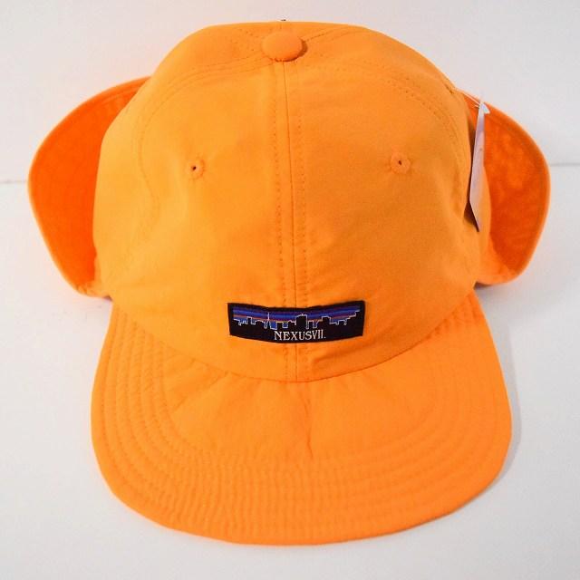 """画像1: NEXUSVII """"SUPPLEX NYLON SUN HAT"""" MANGO (1)"""