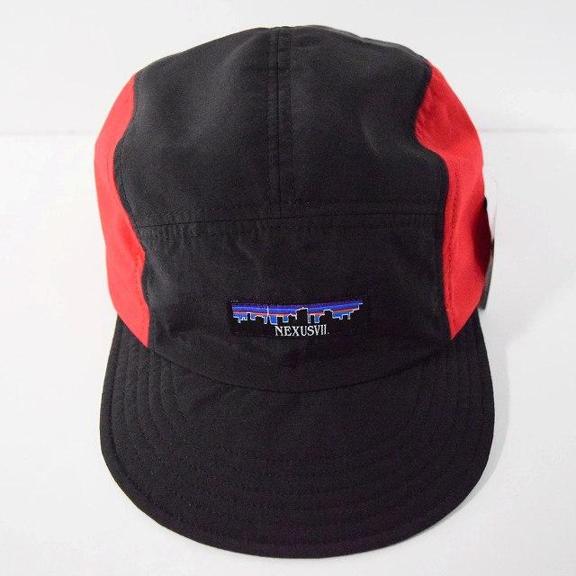 """画像1: NEXUSVII """"SUPPLEX NYLON JET CAP"""" BLACK×RED (1)"""
