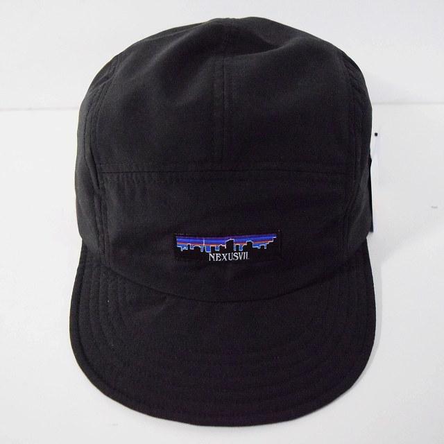 """画像1: NEXUSVII """"SUPPLEX NYLON JET CAP"""" BLACK×BLACK (1)"""