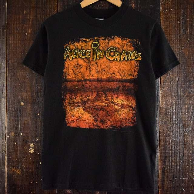 画像1: 2000's Alice in Chains ロックバンドTシャツ S (1)
