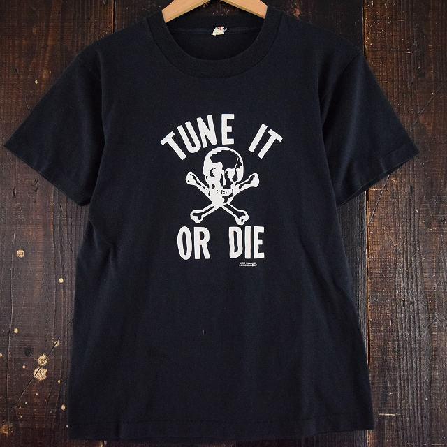 """画像1: 80's USA製 Music Treasures """"TUNE IT OR DIE"""" Tシャツ (1)"""