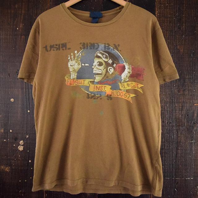 """画像1: POLO Ralph Lauren """"USRL"""" スコードロン風Tシャツ (1)"""