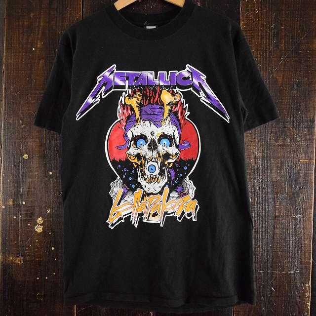 """画像1: 90's METALLICA """"Lollapalooza"""" USA製 バンドTシャツ (1)"""