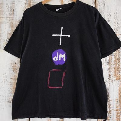 画像1: 90's Depeche Mode USA製 バンドツアーTシャツ XL (1)