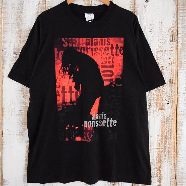 画像1: 90's Alanis Morissette USA製 シンガーソングライターTシャツ XL (1)