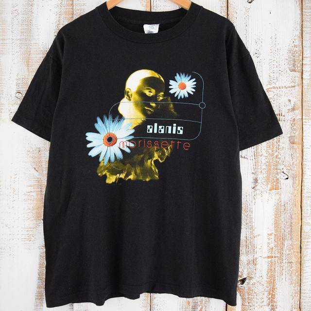 画像1: 90's Alanis Morissette USA製 シンガーソングライターTシャツ (1)