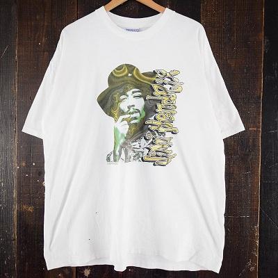 画像1: 90's Jimi Hendrix USA製 ミュージシャンTシャツ XXL (1)