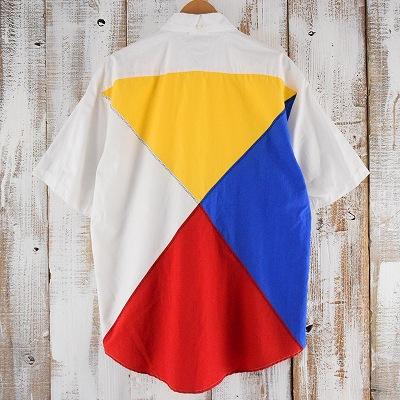画像1: TOMMY HILFIGER シグナルフラッグ ボタンダウンシャツ (1)