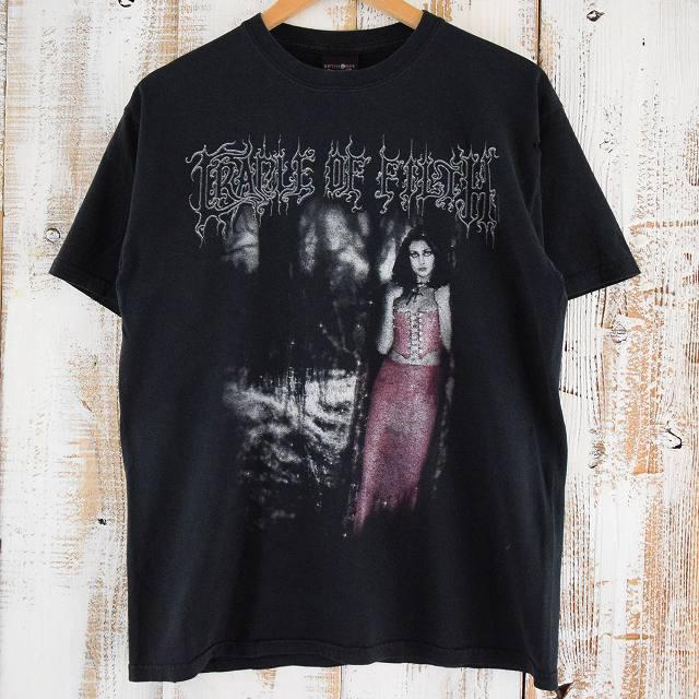 """画像1: 2000's CRADLE OF FILTH """"A WOLF IN CREEP'S CLOTHING"""" バンドTシャツ (1)"""