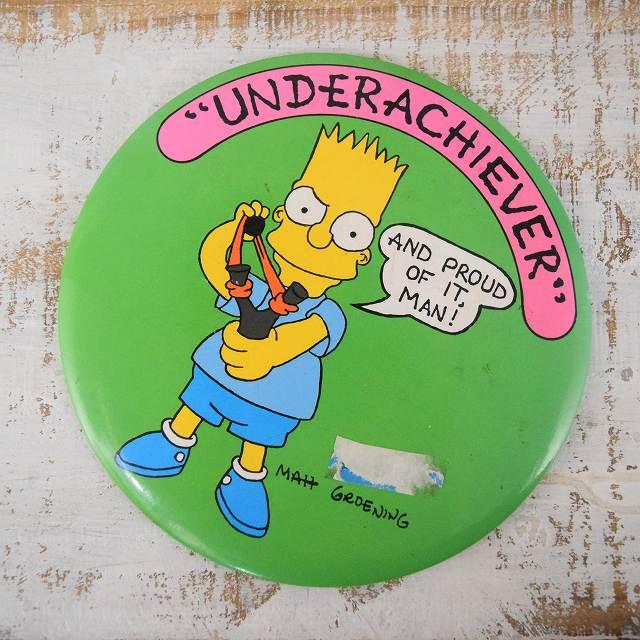 画像1: The Simpsons キャラクター缶バッジ (1)