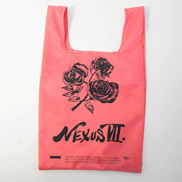 "画像1: ●【SALE】 NEXUSVII ""ROSE DYE GROCERY BAG"" (1)"