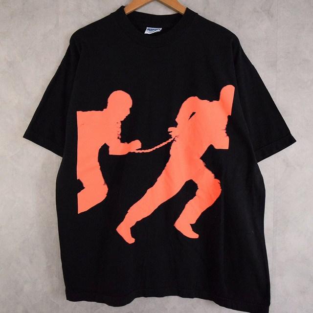 画像1: 90's F.L.E.D. USA製 Movie T-shirt XL (1)
