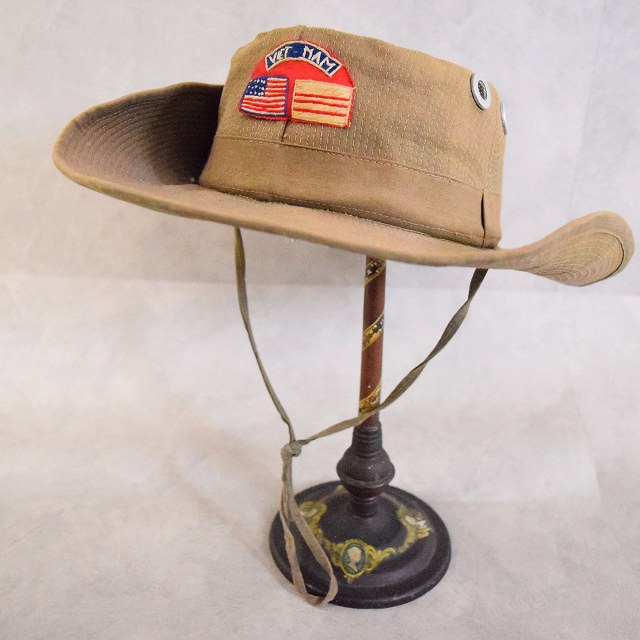 画像1: 60's VIETNAM Jungle Hat (1)
